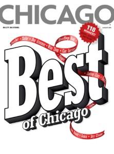 Chicago magazine August Issue: Best of Chicago (PRNewsFoto/Chicago magazine)